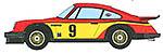 STUDIO 27 1/24 PORSCHE 934 MOMO #9 LE MANS 1977