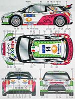 STUDIO 27 1/24 CITROEN DS3 #14 MEXICO WRC 2013 GUERRA ROZADA