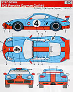STUDIO 27 1/24 PORSCHE CAYMAN GULF #4 COLLIN O'BRIEN