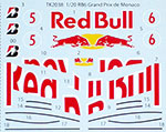 STUDIO 27 1/20 TRANSDECAL FILL IN RB6 RED BULL MONACO GP 2010