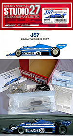 STUDIO 27 1/20 LIGIER JS7 EARLY 1977 VERSION F1 LAFFITE