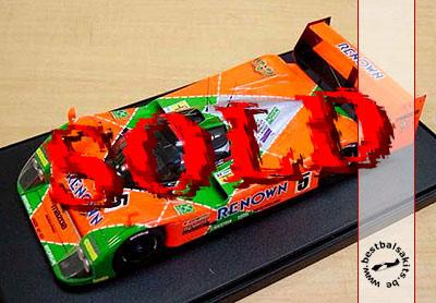 STUDIO 27 1/24 MAZDA MXR01 Renown Le Mans 1992
