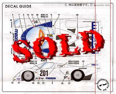 STUDIO 27 1/24 MAZDA 757 Le Mans 1987