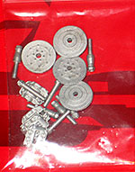 STUDIO 27 1/20 BRAKE DISK & CALIPERS METAL DETAIL SET LOTUS 102 B