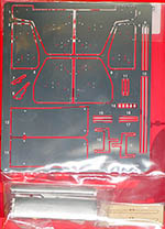 STUDIO 27 1/20 1/20 McLAREN MP4/8 WING PARTS DETAIL UP (PE+metal)