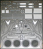 STUDIO 27 1/20 FERRARI F2001 PHOTO ETCH DETAIL for TAMIYA