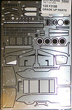 STUDIO 27 1/20 FERRARI F310B PHOTO ETCH DETAIL SCHUMACHER IRVINE