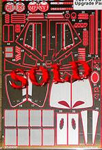 STUDIO 27 1/20 WILLIAMS FW13B PHOTO ETCH DETAIL BOUTSEN PATRESE