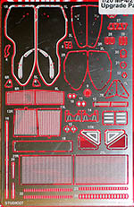 STUDIO 27 1/20 McLAREN MP4/2 PHOTO ETCH DETAIL LAUDA PROST