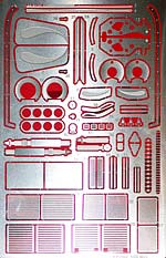 STUDIO 27 1/20 PE DETAIL SET for TAMIYA 1/20 McLAREN M23 FORD