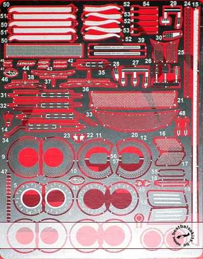 STUDIO 27 1/24 STUDIO 27 DETAIL SET AOSHIMA 1/24 GRB IMPREZA WRX