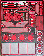 STUDIO 27 1/24 PE DETAIL for 1/24 FUJIMI McLAREN MP4-12C