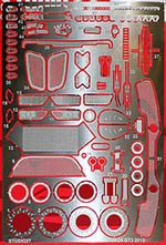 STUDIO 27 1/24 PE + METAL DETAIL for 1/24 FUJIMI BMW Z4 GT3 2013