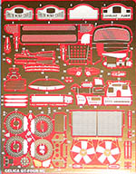 STUDIO 27 1/24 TOYOTA GT FOUR ST185 PHOTO ETCH DETAIL UP
