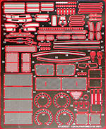 STUDIO 27 1/24 ALFA ROMEO 155 V6 GRADE UP PHOTO ETCH SET TAMIYA