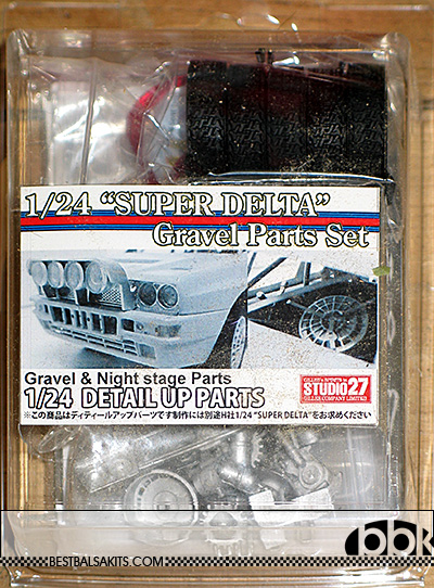 STUDIO 27 1/24 LANCIA SUPER DELTA GRAVEL & NIGHT STAGE GRADE UP