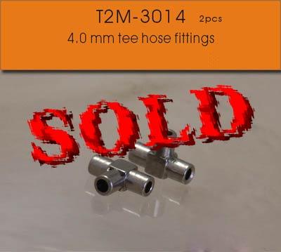 T2M NA 0.7mm T HOSE FITTING ALU 2pc