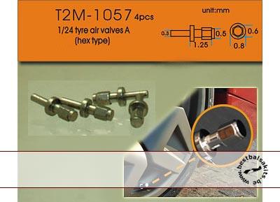 T2M 1/24 1/24 METAL AIR VALVE TYPE A