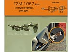 T2M 1/24 1/24 METAL AIR VALVE TYPE A