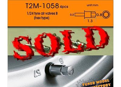 T2M 1/24 1/24 METAL AIR VALVE TYPE B