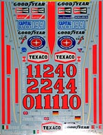 TABU DESIGN 1/12 76 77 FULL SPONSOR DECAL TAMIYA 1/12 McLAREN M23
