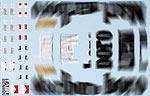 TABU DESIGN 1/20 FILLIN TRANS ITALY GP FUJIMI 1/20 FERRARI F2003-GA