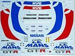 TABU DESIGN 1/24 NISSAN NISMO GT-R LE MANS '95 CLUB LE MANS TAMIYA