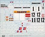 TABU DESIGN 1/24 NISSAN NISMO GT-R CALSONIC JGTC 95-98 DECAL