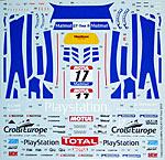 TABU DESIGN 1/24 MP4-12C GT3 #17 FFSA GT Tour 2012 SEBASTIAN LOEB