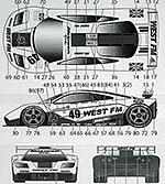 TABU DESIGN 1/24 McLAREN F1-GTR