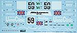 TABU DESIGN 1/24 McLAREN F1-GTR UENO CLINIC #59 LE MANS 1995