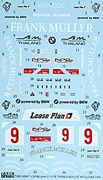 TABU DESIGN 1/24 McLAREN F1-GTR FRANK MULLER #9 SUZUKA 1996