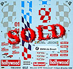 TABU DESIGN 1/24 McLAREN F1-GTR #01 HOLLYWOOD 4Hrs BRASILIA 1996