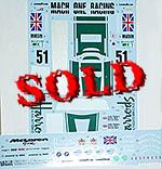 TABU DESIGN 1/24 McLAREN F1-GTR HARRODS #9 LE MANS 1995