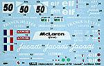 TABU DESIGN 1/24 McLAREN F1-GTR #50 JACADI LE MANS 1995