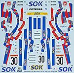 TABU DESIGN 1/24 McLAREN F1-GTR SOK #30 JGTC 2000
