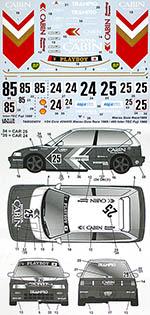 TABU DESIGN 1/24 HONDA CIVIC CABIN #24/#25 MACAU #85 INTER TEC FUJI