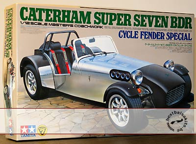 TAMIYA 1/12 CATERHAM SUPER SEVEN BDR CYCLE FENDER SPECIAL
