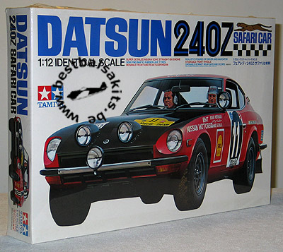 TAMIYA 1/12 TAMIYA 1/12 DATSUN 240Z SAFARI CAR