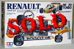 TAMIYA 1/12 TAMIYA 1/12 RENAULT RE20 TURBO
