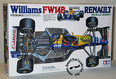 TAMIYA 1/12 TAMIYA 1/12 WILLIAMS RENAULT FW14B