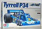 TAMIYA 1/12 TAMIYA 1/12 TYRRELL P34 SIX WHEELER + PHOTO ETCH