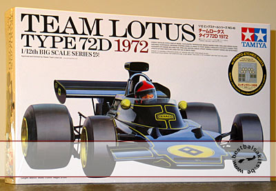 TAMIYA 1/12 LOTUS 72D FITTIPALDI WISELL + PHOTO ETCH