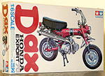TAMIYA 1/6 HONDA DAX ORIGINAL ISSUE + NEW REPLACEMENT DECAL