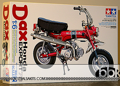 TAMIYA 1/6 TAMIYA 1/6 HONDA DAX LATEST RE-ISSUE