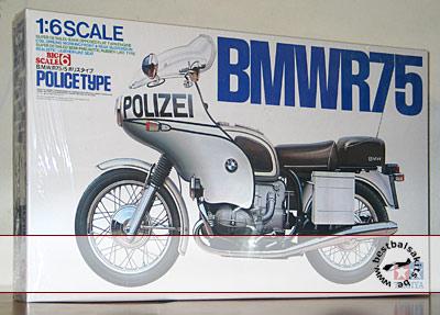 TAMIYA 1/6 TAMIYA 1/6 BMW R75 POLIZEI POLICE TYPE