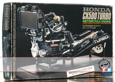 TAMIYA 1/6 TAMIYA 1/6 HONDA CX500 TURBO ENGINE