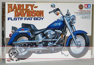 TAMIYA 1/6 TAMIYA 1/6 HARLEY DAVIDSON FAT BOY