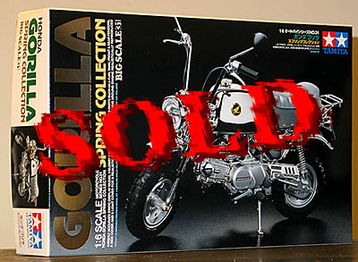 TAMIYA 1/6 TAMIYA 1/6 HONDA GORILLA SPRING COLLECTION