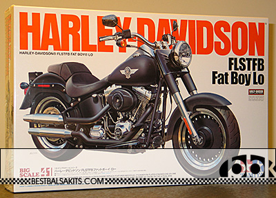 TAMIYA 1/6 HARLEY DAVIDSON HD FLSTFB FAT BOY LO LOW RIDER